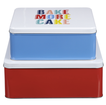 Bake More Cake Tins