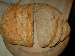 wheaten bread sliced