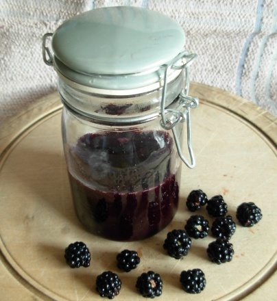 blackberry coulis
