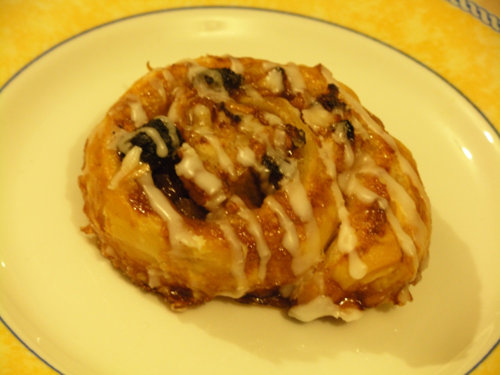 Pear and cinnamon Danish
