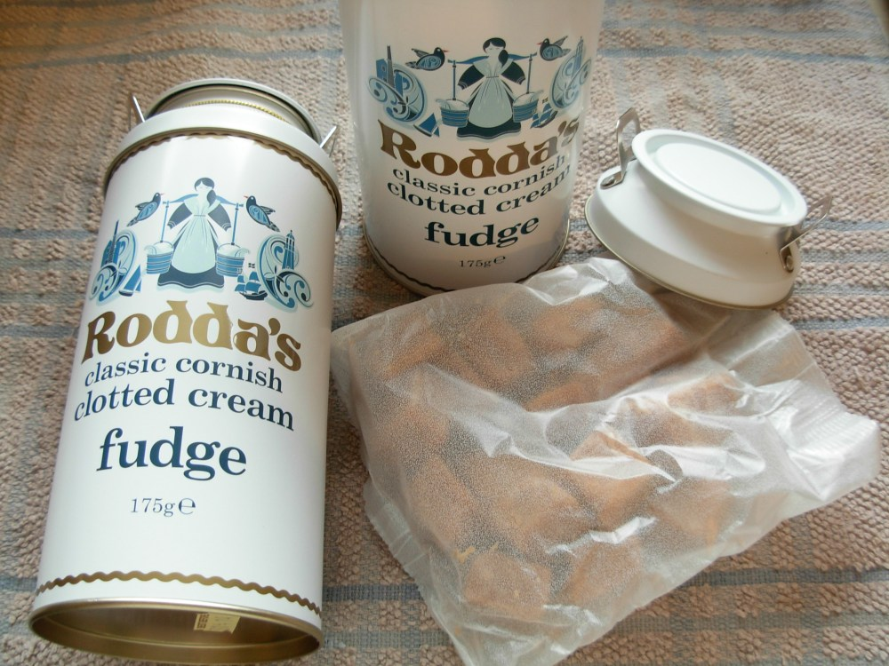 Rodda's fudge