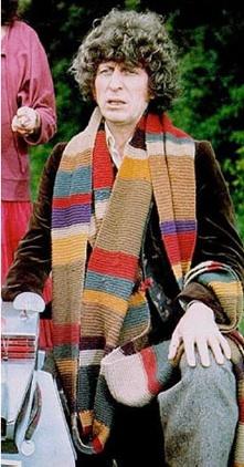 Tom Baker scarf
