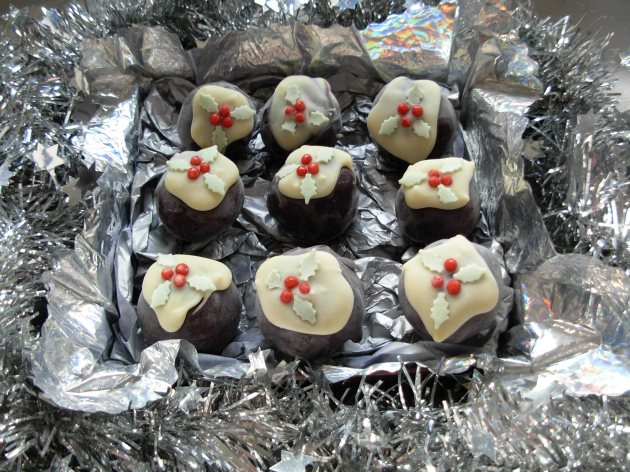 Christmas Pudding Truffles