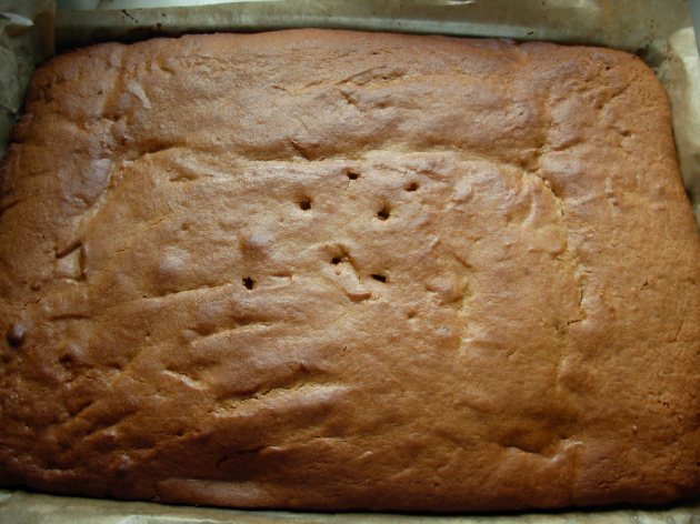 Cooked gingerbread