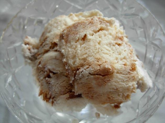 Gingerbread icecream