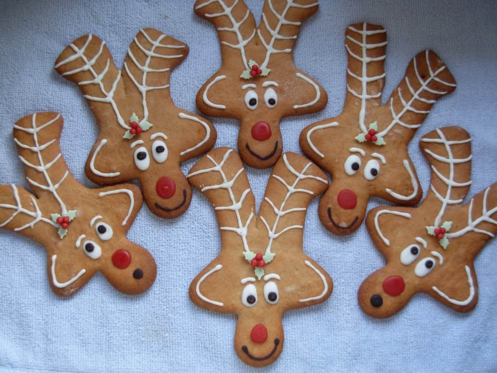 gingerbread reindeer adults