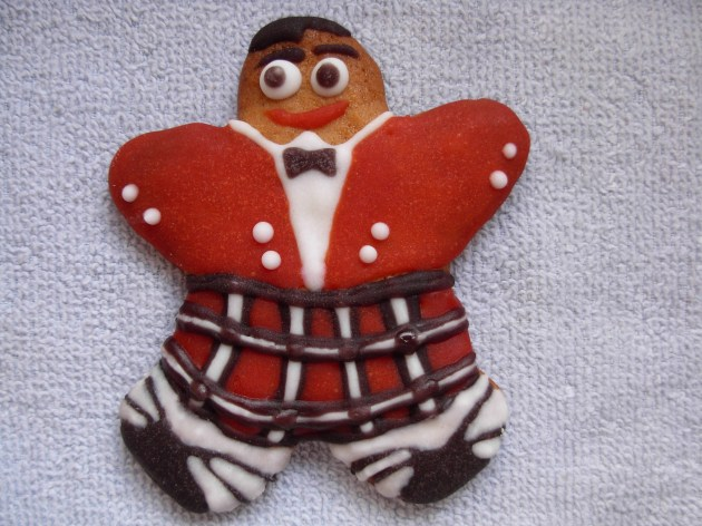 Scottish gingerbread man