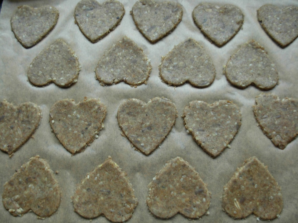 Rye pastry hearts