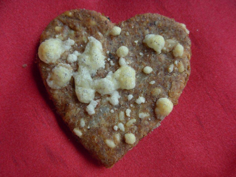 Valentine Rye crisp bread